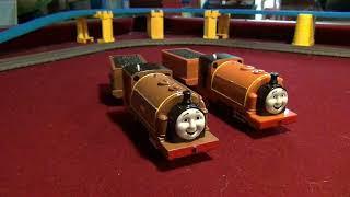 New 7 Custom Trackmaster Thomas Trains4/Test Run