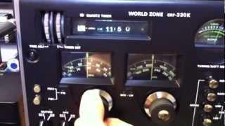 getlinkyoutube.com-SONY CRF-330K, World Zone, 33 Band Receiver