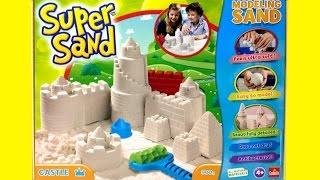 getlinkyoutube.com-Super Sand Castle Playset SuperSand Modeling Sand Make Your Own Sand Castle DIY Castillo de Arena