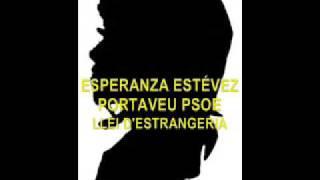 LLEI D'ESTRANGERIA ESPERANZA ESTÉVEZ PORTAVEU PSOE