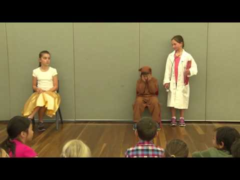 The Arts: Drama - Above satisfactory - Years 3 and 4