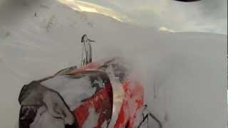 "getlinkyoutube.com-2012 Arctic Cat M8 Pro Climb 162"" Lost Lake part 3"