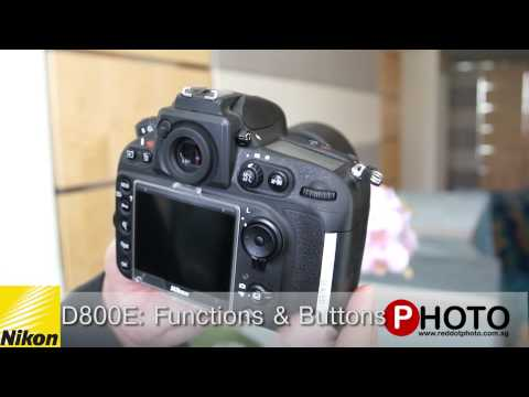 Nikon D800 / D800E key features and hands on