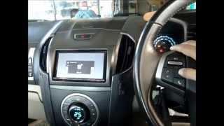 เครื่องเล่น DVD รถยนต์ 2 DIN SONY XAV 712BT ติดตั้งรถ Chevrolet Colorado By..PoneLopBuri