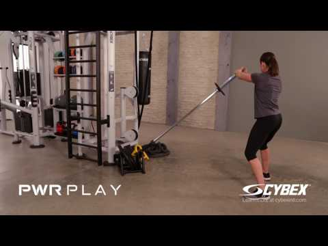 Cybex PWR PLAY - Power Pivot Squat Rotation