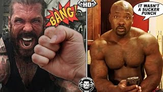 getlinkyoutube.com-Rich Piana Got Punched In The Face at LA Fit Expo By A Bodybuilder