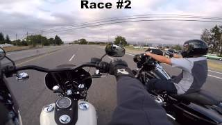 Dyna vs Street Glide ( Both 103ci)