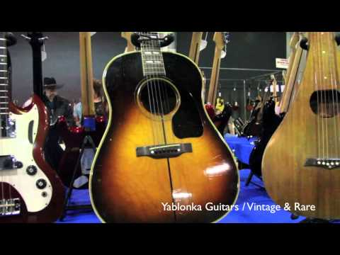 Dan Yablonka Guitars / Orange County Guitar Show 2012 / Vintage&RareTV
