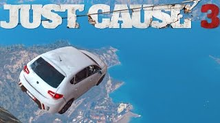 getlinkyoutube.com-BIGGEST JUMP IN JUST CAUSE 3 ?! Funny moment