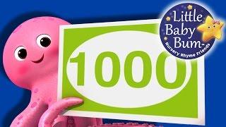 getlinkyoutube.com-Numbers Song - 100 to 1000   Big Numbers!   Nursery Rhymes   Original Song by LittleBabyBum!