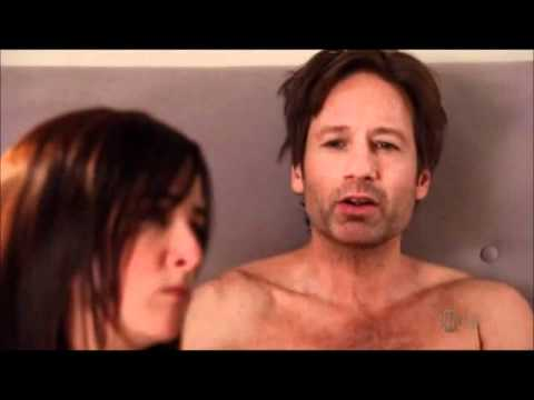 Californication - Hank sneaks into Marcy's bed