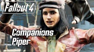 getlinkyoutube.com-Fallout 4 - Companions - Meeting Piper