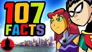 getlinkyoutube.com-107 Teen Titans Facts YOU Should Know! - ToonedUp @CartoonHangover