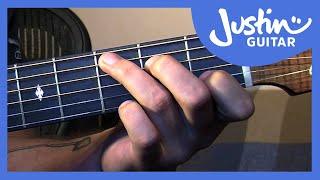 getlinkyoutube.com-Basic Fingerstyle Guitar - Waltzing Matilda - Folk Guitar Lesson [FO-107]