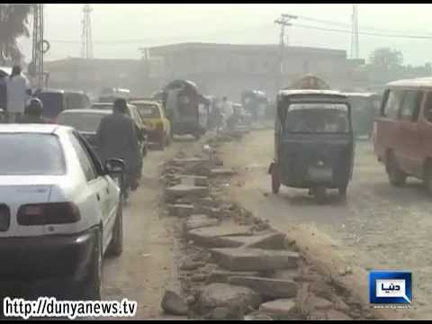 Dunya News-Pollution increasing in Peshawar despite KPK govt pledges of making city green and clean