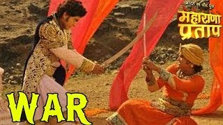 getlinkyoutube.com-Maharana Pratap: OMG! Major WAR between Pratap and Akbar | 26th June 2014 FULL EPISODE