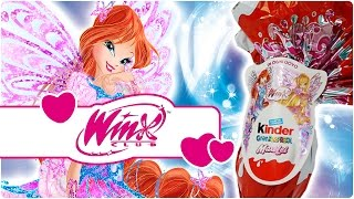 getlinkyoutube.com-Winx Club - Scopriamo insieme l'uovo di cioccolato Kinder!