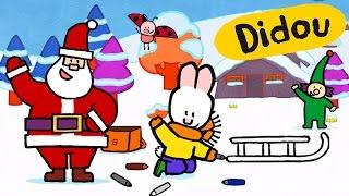 getlinkyoutube.com-Didou dessine-moi Noël ❅ Didou et l'assistant du Père Noël ☃ Dessin animé de Noël