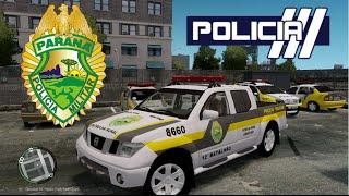 getlinkyoutube.com-GTA IV - PMPR : Frontier em patrulhamento