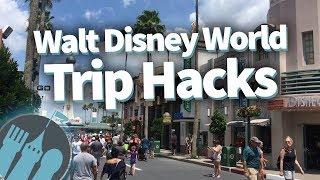 Ultimate Walt Disney World Trip and Travel Hacks List!