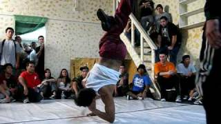 getlinkyoutube.com-Bboy Reveal in Small Time Crook 2