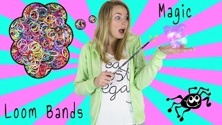 getlinkyoutube.com-How To Loom Bands Magic Tricks! DIY 6 Magic Tricks with Rubber Band & Unboxing YouTube Play Button