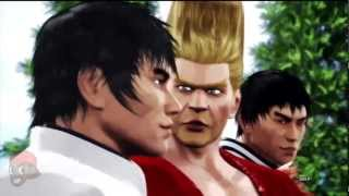 Tekken Tag Tournament 2 - Forest Law, Marshall Law, & Paul Ending Movies width=
