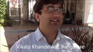 [Rajiv Nema Indori Fan] Vikalp Khandelwal from Bangalore /Ujjain meets in Silicon Valley