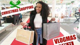 getlinkyoutube.com-CHRISTMAS SHOPPING: Vlogmas Day 23