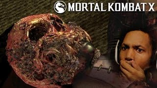 getlinkyoutube.com-A KISS DID ALL THIS!? (real talk, I'm about to vomit in this sucka) | Mortal Kombat X #8