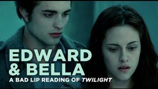 "getlinkyoutube.com-""Edward and Bella"" — A Bad Lip Reading of Twilight"