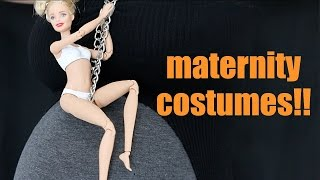 getlinkyoutube.com-Maternity Halloween Costumes at 9 Months Pregnant!!