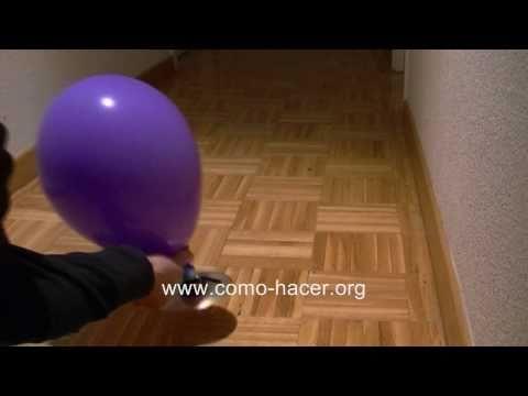 Experimentos caseros faciles - Como hacer un juguete aerodeslizador hovercraft