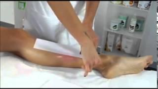 getlinkyoutube.com-эпиляция воском ноги