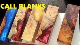 getlinkyoutube.com-Alumilite casting Worthless wood into Call blanks for duck/deer calls