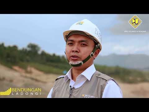 Profil Bendungan Ladongi 2018