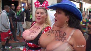 getlinkyoutube.com-Mardi Gras babes: Kacey & Carol