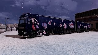 getlinkyoutube.com-Euro Truck Simulator 2 Multiplayer | Double Trailers | Test Drive | Daf XF Euro 6 | 0.1.3 Alpha |
