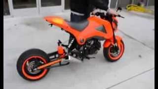 "getlinkyoutube.com-""Grom"" 2014 Honda Grom Customized By Garwood Custom Cycles & C and S Custom (MSX)"