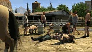 getlinkyoutube.com-GTA 5: how to get a horse - (GTA 5 horse) - PARODY