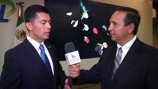 Ceremonia Premios Othli por el Consulado de México.