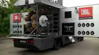 getlinkyoutube.com-JBL Demo Truck or Mobile Nuclear Reactor - Cosa de Locos