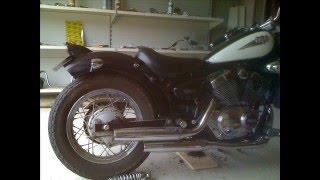 getlinkyoutube.com-Virago XV 125 S en custom/bobber