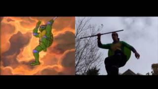 getlinkyoutube.com-Live Action Teenage Mutant Ninja Turtles Cartoon Intro