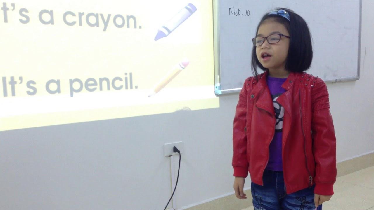 Emily - Thanh Trà (6 years old) - Sydney 2 - APUS ENGLISH