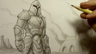 getlinkyoutube.com-How to Draw Armor