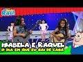 Programa Raul Gil - Isabela e Raquel (O Dia em que Eu Saí de Casa, Pássaro de Fogo, etc)