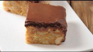 getlinkyoutube.com-كعكة الشوكولاتة غير المخبوزة- سلمى في البيت - فتافيت