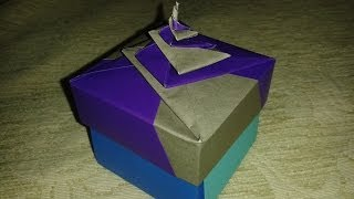 getlinkyoutube.com-Origami: spiral box