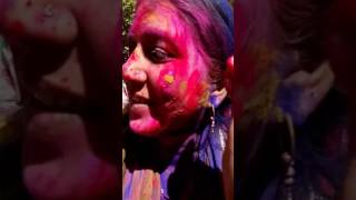 Holi celebration by aunties and bhabhis